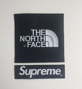 The-North-Face-X-Supreme-Black-Arm-Patch-TNF-Sew-On-Glue-On-For-Jacket-Or-Fleece