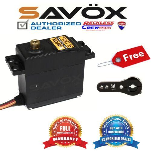 Free ALU servo horn Black Savox SC-1201MG Hi Torque Tall Case Digital Servo