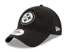 item 5 Pittsburgh Steelers New Era NFL 9Twenty Twill Core Classic Adjustable  Black Hat -Pittsburgh Steelers New Era NFL 9Twenty Twill Core Classic ... 51f3de280