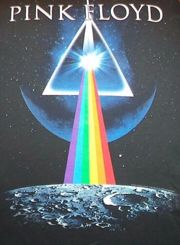 XL MEN'S BLACK T-SHIRT ** PINK FLOYD ** DARK SIDE OF THE MOON **