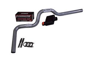 "96-99 Chevy GMC 1500 Truck 2.5/"" Dual Exhaust Flowmaster D in Super 40 Slash Tips"