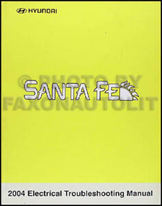 image is loading 2004-hyundai-santa-fe-electrical-troubleshooting-manual- wiring-