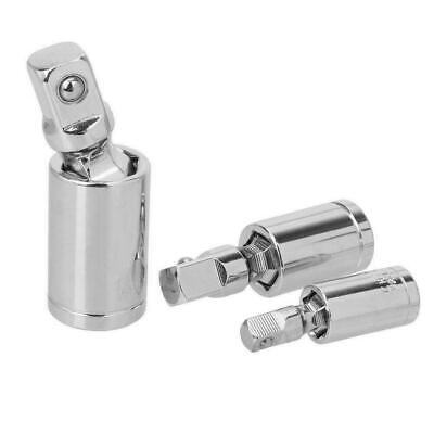 "Universal Joint Set Ratchet Angle Extension Bar Socket 1//4/"" 1//2/"" Adapter G2G5"