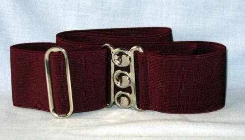 Gli infermieri della cinghia elastica fatta in UK Verde Bottiglia Rosso Borgogna Lilla Viola Vino Cachi