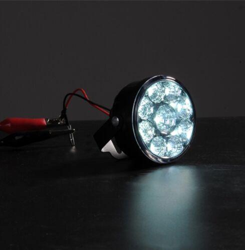 """Klare Led Tagfahrlichter Lampe E4 70mm 2.75 /"""" Rund Satz"""