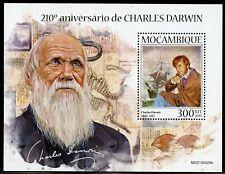 MOZAMBIQUE  2019  210th ANNIVERSARY  OF CHARLES DARWIN  SOUVENIR SHEET MINT NH
