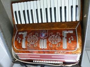 Orfeo  Accordion  Italian  34 full size keys