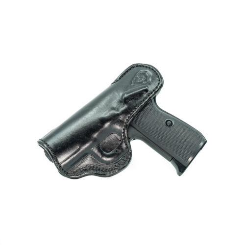 GUN HOLSTER FOR WALTHER P22 IWB LEATHER HOLSTER CONCEAL CARRY.