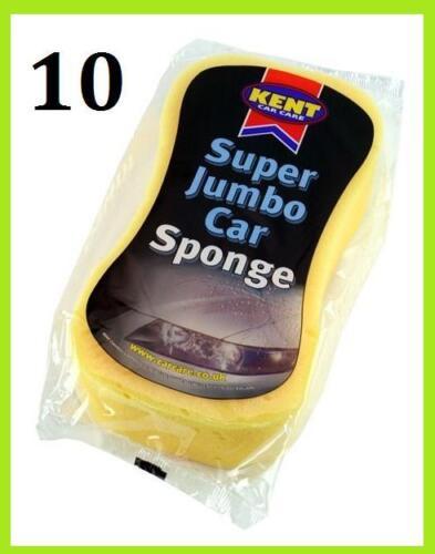Sponge, 10 x Kent Super Absorbent Jumbo Sponges