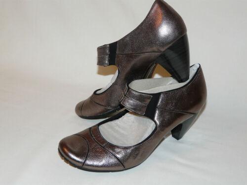 en Tamaño 7d Bnwt cualquier Dark lugar Mary Metallic Pewter Jane Softwear Shoes Clarks wfpI5Hq5