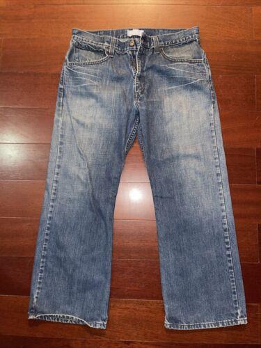 vintage levis silvertab jeans 34x30 Blue Denim Me… - image 1
