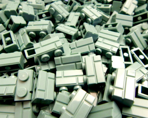 100 NEW SAND GREEN 1x2 LEGO MASONRY BRICK PIECES bulk part 98283 building block