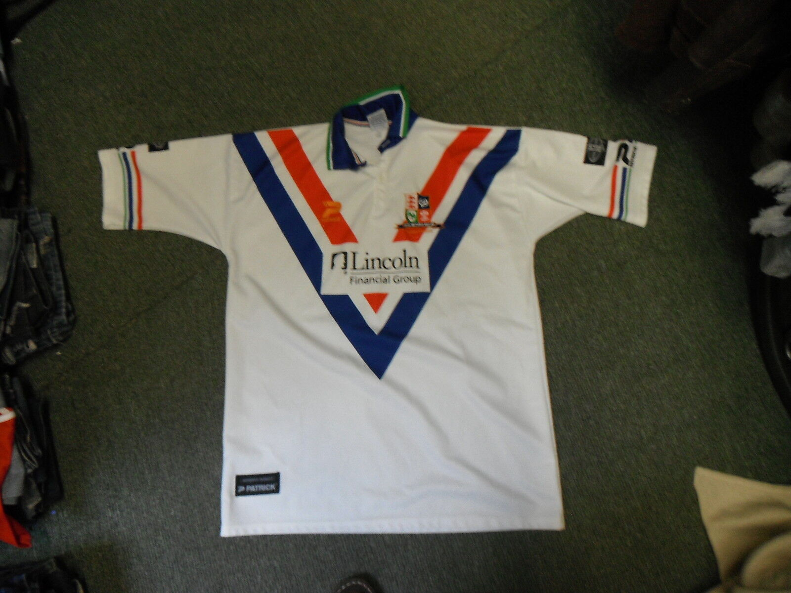Vintage Great Britain & Ireland XXL 46  - 48  Mens Rugby League Shirt