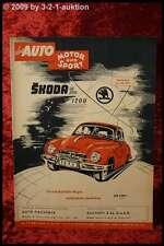 Das Auto AMS Auto Motor Sport 7/53  IAA 1953 PKW Busse LKW