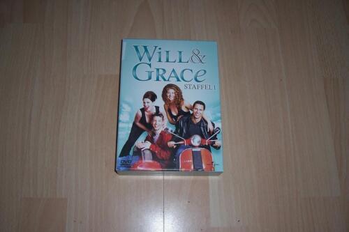 1 von 1 - Will & Grace - Staffel 1 --- Serie ---- 4 DVD-Box