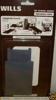 Wills SSMP222 Chequer Plate Sheets. NEW (00 Gauge)
