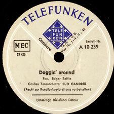 FUD CANDRIX TANZORCH. Doggin' around / Dixieland Detour (flotter Swing!!)  S8437