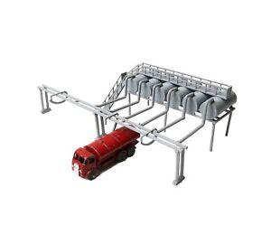 DAPR-N-Gauge-Railway-Scenery-Building-Kit-Fuel-Depot-Tanker-Filling-Station