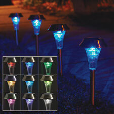 Westinghouse Color-Changing Solar LED Garden/Landscape Lights - 4-Pack