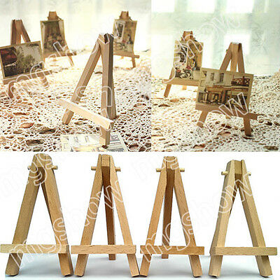 10x Wood Artist Easel Wedding Table Number Place Name Card Stand Display Holder