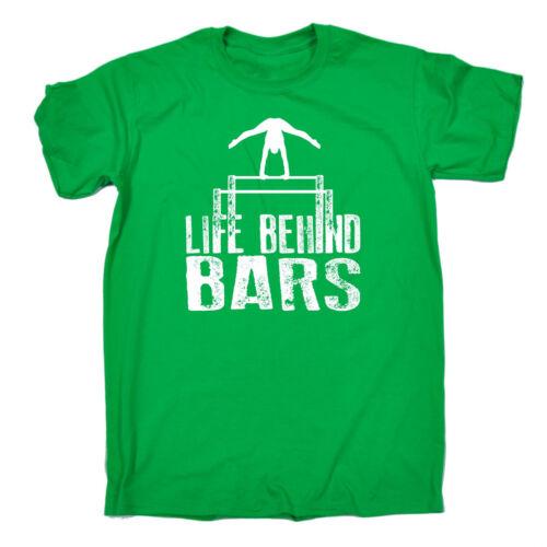 Life Behind Bars Gymnast T-SHIRT Training Gym Gymnastics Funny birthday gift