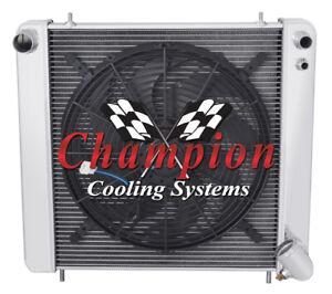 3 Row Best Cooling Champion Radiator for 1965 1966 1967 Jaguar XKE