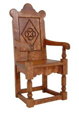 1/12 scale Dolls House Kit Furniture   Tudor Chair       Mc65