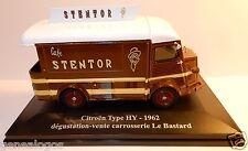 ELIGOR HACHETTE CITROEN TYPE H HY 1962 CAFE STENTOR LE BASTARD  1/43 blister BOX