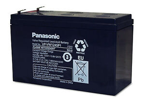 Details about New Panasonic VRLA sealed lead acid battery 12V 9Ah  UP-VW1245P1 APC UPS Battery