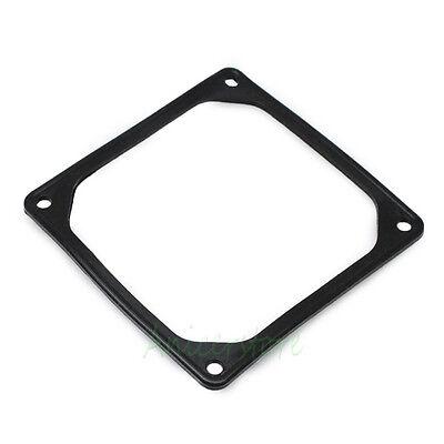 2pcs Black 120mm PC Case Fan Anti vibration Gasket Silicone Shock Absorption Pad
