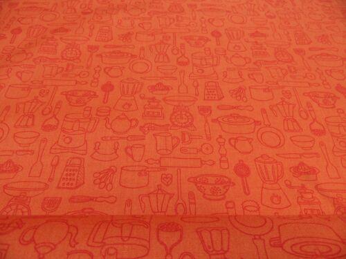 Patchworkstoff All over von Makower  50 x 110cm BW mehrfarbig m.Motiven