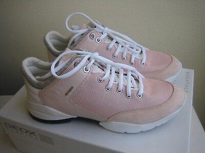 SCARPE GEOX DONNA sneakers rosa D SFINGE A PINK NETNAPPA N. 36 COME NUOVE | eBay