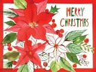 Christmas Poinsettia by Margaret Berg 9780735341210 Cards 2014
