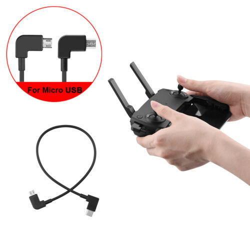 OTG Remote Controller DataTransfer Cable For DJI MAVIC PRO AIR Spark Android USB