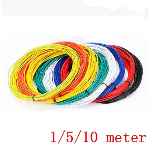 1M/5M/10M souple brin UL1007 18AWG ~ 26AWG electronic wire PVC Câble 300 V   eBay