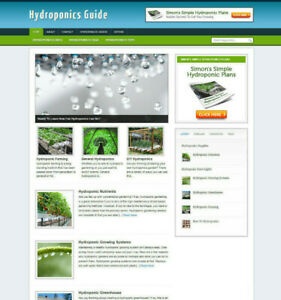 HYDROPONICS-GUIDE-WEBSITE-WITH-UK-AFFILIATE-STORE-FREE-DOMAIN-AND-INSTALLATION