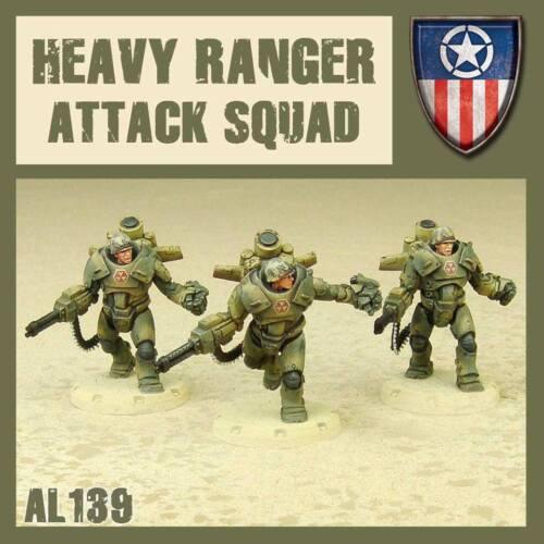 DUST 1947 NNN AL139 HEAVY RANGER ATTACK SQUAD