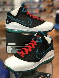 1c6b66e4799b5 Image is loading Nike-Lebron-7-VII-NFW-Red-Carpet-383578-