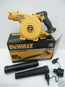 BRAND-NEW-DEWALT-18V-DCV100-LEAF-JOBSITE-WORKSHOP-BLOWER