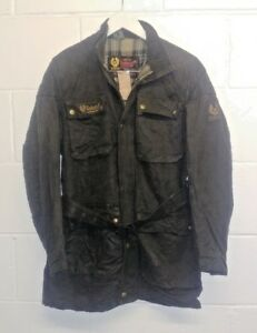 Belstaff-Trail-Master-Professional-Vintage-Made-in-England-Wax-Cotton-Jacket
