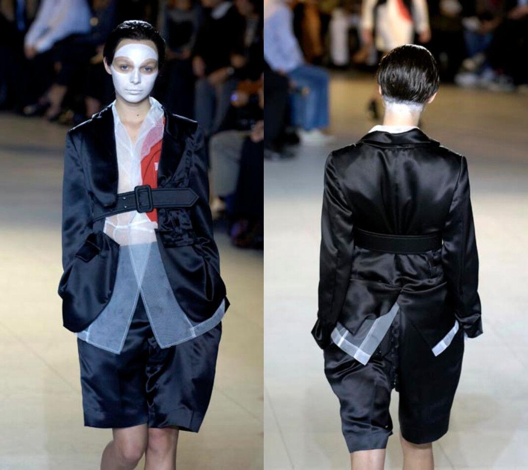 AD2006 Comme des Garcons Re-construido pantalones de terciopelo   Venta al por mayor barato y de alta calidad.