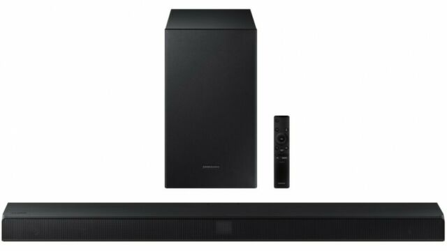 Samsung HW-T650 series 6 Soundbar 3.1 Channels 340W Bluetooth Wireless Subwoofer
