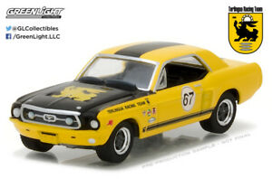Greenlight-1-64-1967-Ford-Terlingua-Continuation-Mustang-67-Jerry-Titus-Ken-Mile