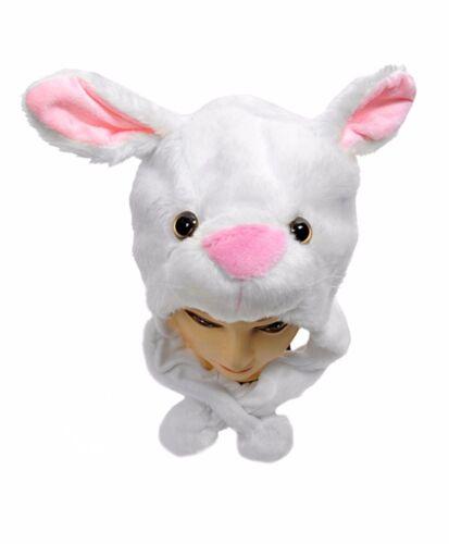 Bunny Plush Animal Hat with Ear Flaps BGHATC1190