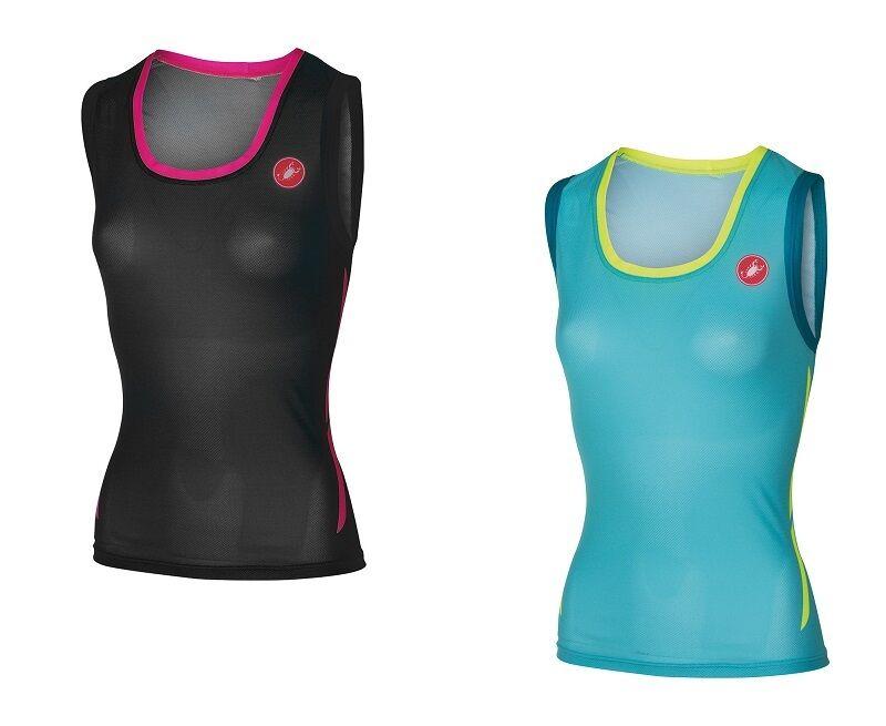 Castelli ALII Run Top Womans Bicycle triathlontop Breathable - 8616074