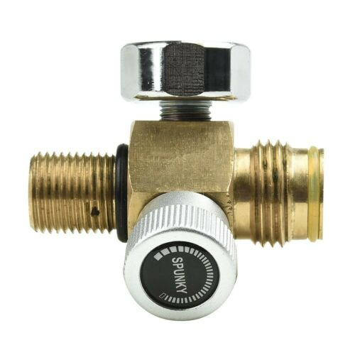 Replacement Tank valve Supplies Air Systems 3000 Psi Gauge Male On//Off