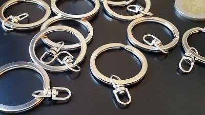 BASE-19 anillas abiertas colgantes pulseras Unas 250 Anillas metal 7mm 30gr