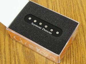 NEW-Seymour-Duncan-SSL-5-Custom-Staggered-Strat-PICKUP-Black-for-Stratocaster