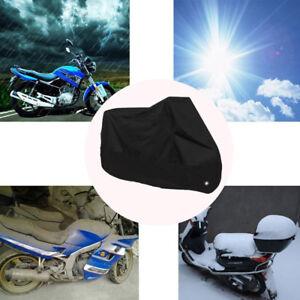 Motorcycle-Cover-Waterproof-Outdoor-Rain-Dust-UV-Scooter-Motorbike-Protector-M
