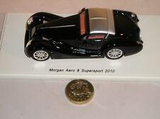 Spark S2181 Morgan Aero 8 Supersport 2010 Car Black 1:43 Diecast Model